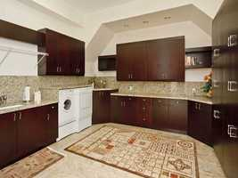 The house also has a spacious laundry room.