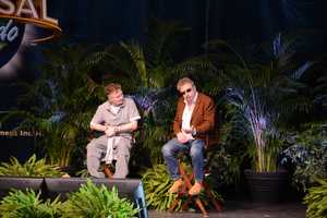 Paul Harris was joined by Mr. Weasley, Mark Williams