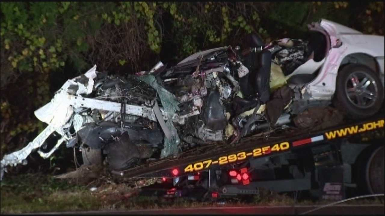 Two fiery crashes claimed lives in Orange County on Sunday night.