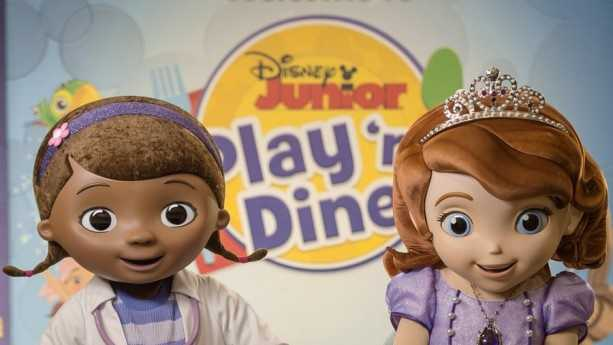 Doc McStuffins and Princess Sofia are now at Disney Junior Play 'n Dine in Hollywood Studios.