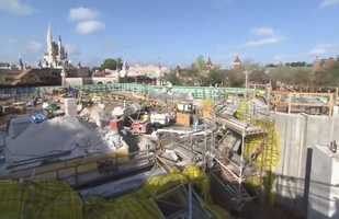 Take a look at the Seven Dwarfs Mine Train, Walt Disney World's new family coaster attraction coming to the Magic Kingdom in spring 2014.