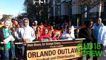 Crew member, Kelsey, attended Orlando's MLK Day parade, and helped spread the message... Alert Today, Alive Tomorrow!