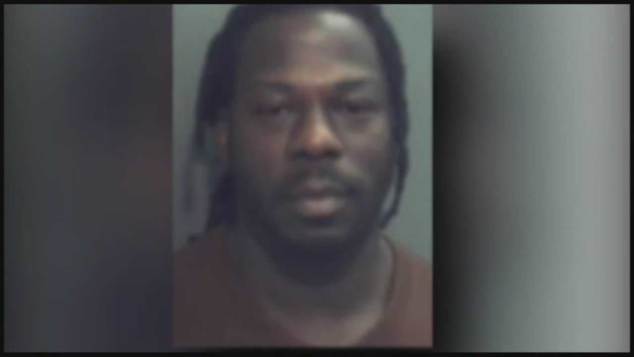 Deputies said 32-year-old Willie Hollis drove to the jail around noon for a court hearing, but shouldn't have since he is allegedly a habitual traffic offender.