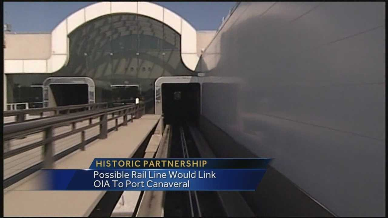 OIA, Canaveral port could soon be connected by rail