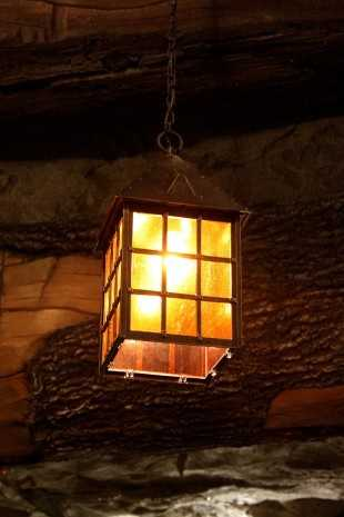 This is another lantern that guests will see as they soar through the Seven Dwarfs Mine Train.