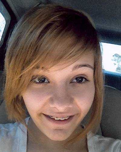 Emily Paul, age now 14: Missing from Southport. Emily may travel to Panama City, Florida When Emily was last seen she had purple and green coloring in her hair and the left side was cut shorter than the right. However, she may now have very short bleached blond hair with pink highlights. Emily has pierced ears. She may go by the nickname Em.