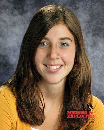 Sabrina Aisenberg, age now 16: Missing from Valrico. Sabrina's photo is shown age-progressed to 16 years. Sabrina became missing from her residence sometime during the early morning hours of November 24, 1997. Her yellow blanket is also missing.