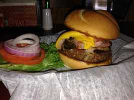 9. Johnny's Fillin' Station: Full Service BurgerWhat's on it: An 8 ounce fresh ground beef burger with fresh sautéed mushrooms, thinly sliced grilled ham and your choice of cheeseAddress:2631 S. Ferncreek Ave, Orlando, FL 32806