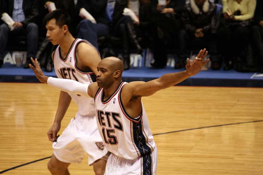Vince Carter was born in Daytona Beach. He is currently a shooting guard/small forward for the Dallas Mavericks. He has also played for the Toronto Raptors, New Jersey Nets, Orlando Magic and Phoenix Suns.