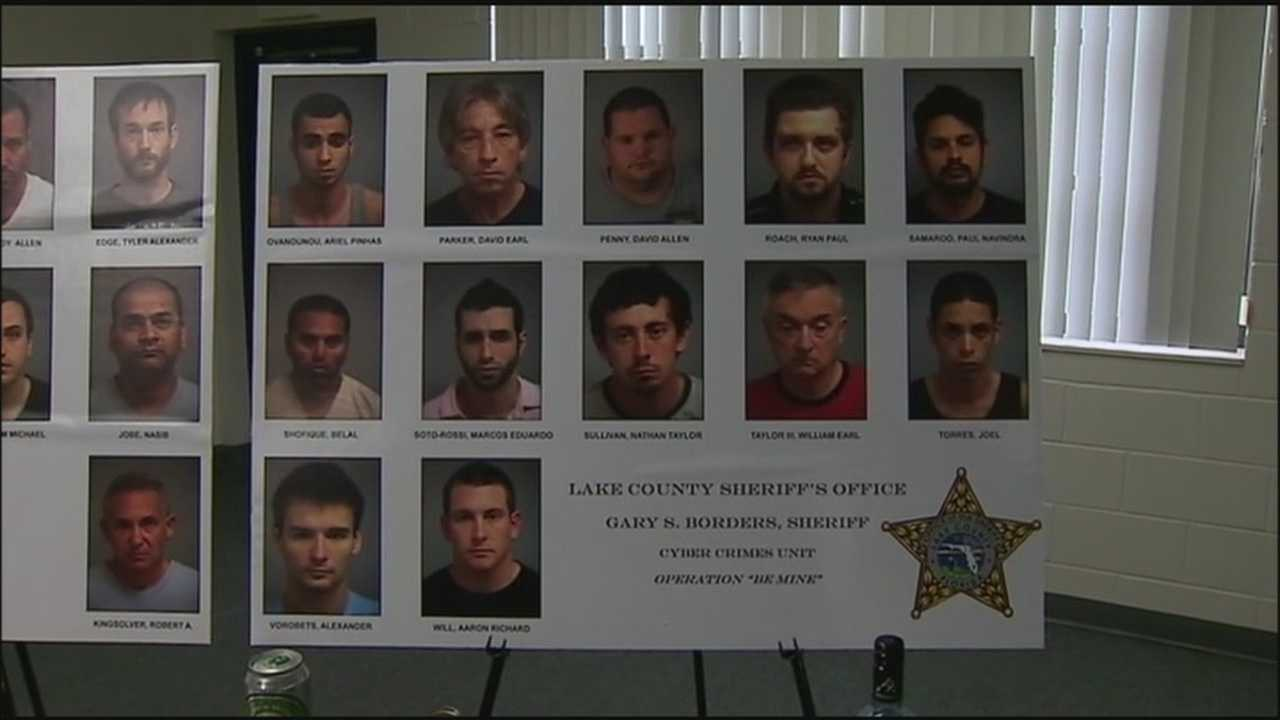 22 people arrested in Lake County sex sting