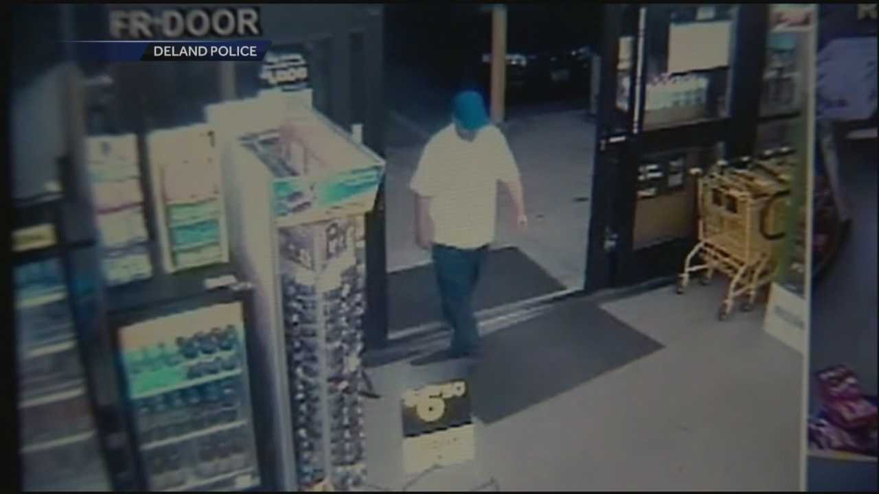 Police need help finding the man who robbed a DeLand Dollar General store this week.