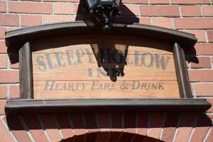 Sleepy Hollow, the small counter-service location in Walt Disney World's Magic Kingdom Liberty Square, is responsible for the waffle sandwich.