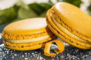 If French cuisine is more you style, the Orange Blossom macarons at the Fleur de Lys Outdoor Kitchen might hit the spot.