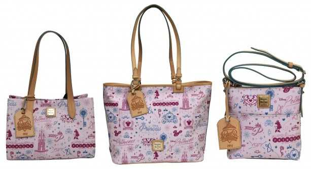 A popular item returning this year is specially designed Dooney & Bourke handbags. These items will each have a leather hang tag with the event logo.