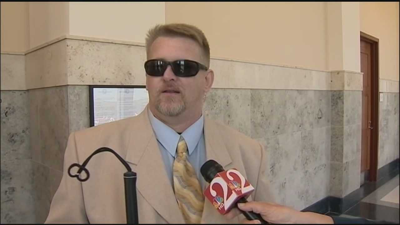 A judge ruled Thursday that John Rogers, a legally blind man, had the right to have both his guns returned to him.