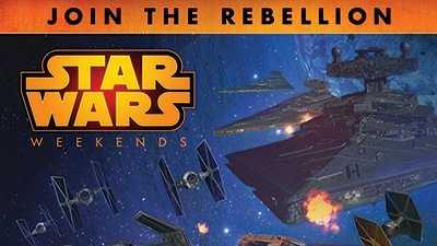 Star Wars weekend poster