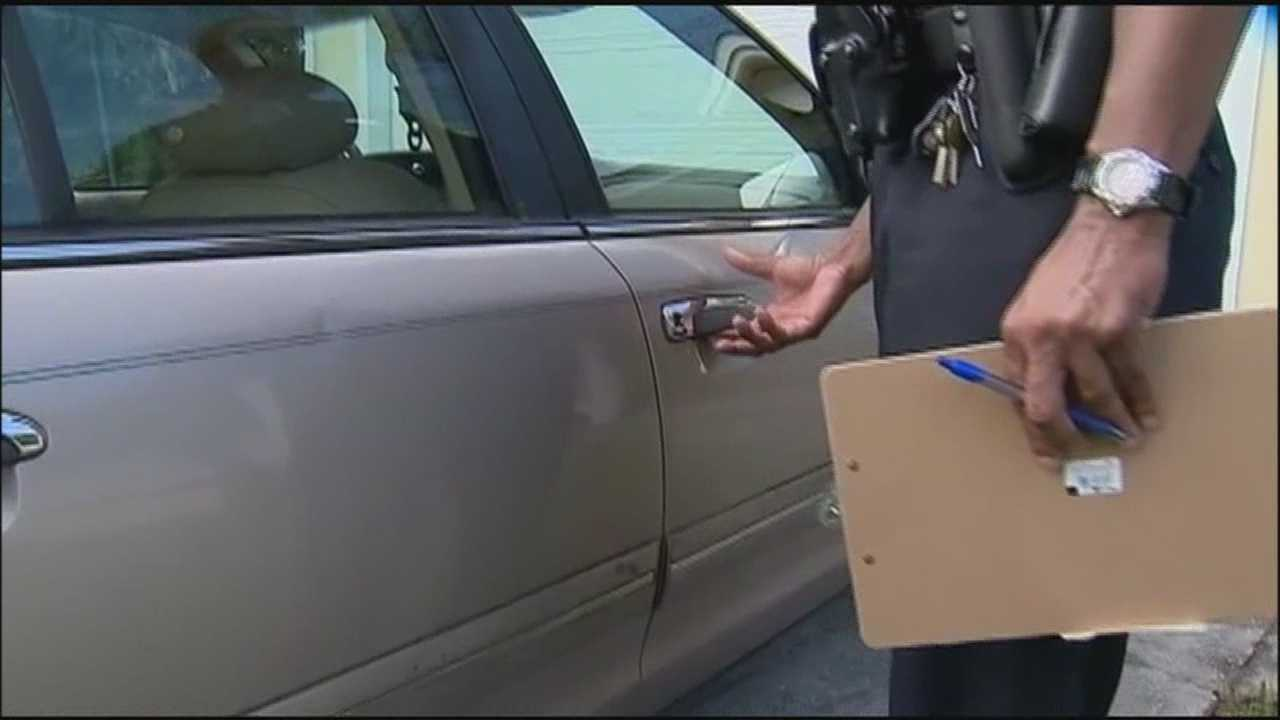 Orlando police officers are trying to crackdown on burglaries.
