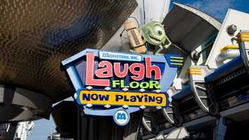 36. Monsters Inc. Laugh Floor: Live comedy show starring characters from Monsters, Inc. and Monsters University.Location: TomorrowlandHeight: Any