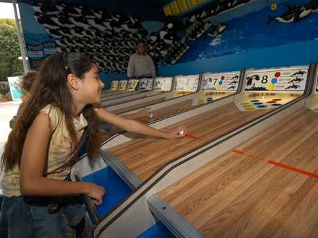 4. Arcade and Games: Video games, Skee-Ball, squirt gun races, driving simulators and pinball games are all a part of this arcade.