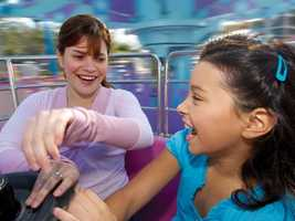 9. Jazzy Jellies: A jellyfish-themed ride that allows you to be in control of how fast you spin your teacup-style car