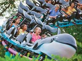 11. Shamu Express: This ride is perfect for people not quite ready to brave the Manta.