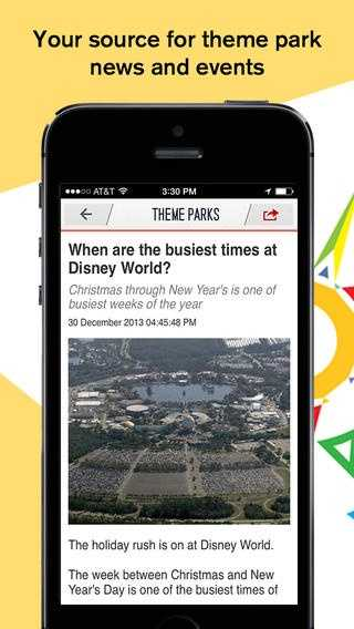 Orlando My Way (iOS, Android) - See the latest news and information from Disney World and other Orlando theme parks, brought to you by WESH 2. Get inside information on upcoming events and tips to plan your visit.
