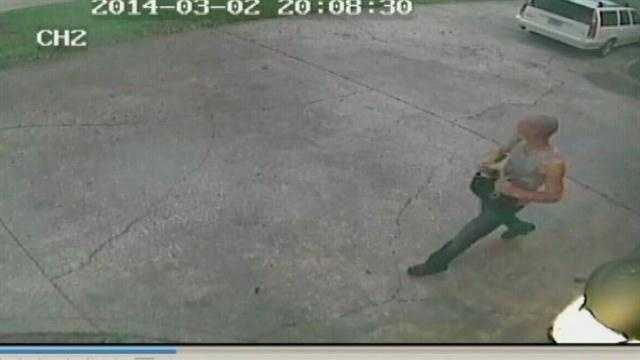 The search is on for a thief seen on surveillance video breaking into homes and cars in one local neighborhood.