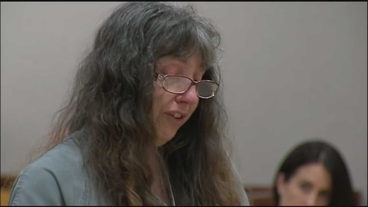 The Brevard County woman convicted of starving her boyfriend's son and tying him up was sentenced to 40 years in prison on Friday.