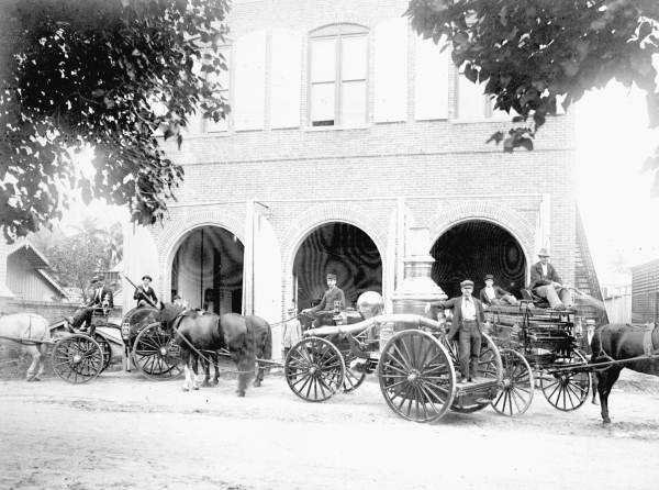 Take a look at how Florida fire departments and their vehicles have changed over time.1897: Key West