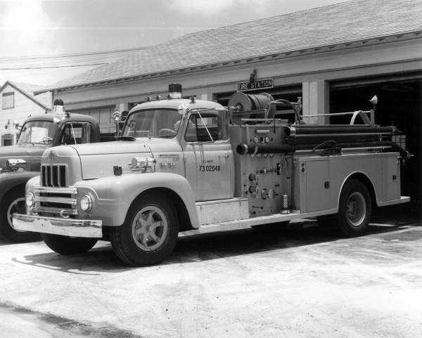 1975: International Harvester Fire Truck in Key West