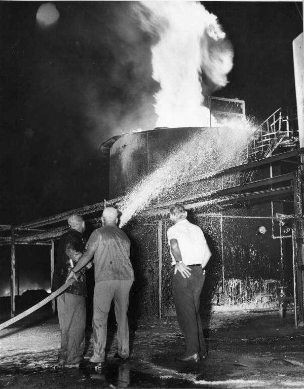 1956: Seminole Asphalt Company in St. Marks