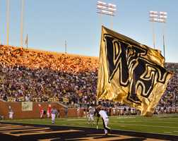 17. Brett says the best sporting event he ever attended was the 2007 Orange Bowl with Wake Forest against Louisville.