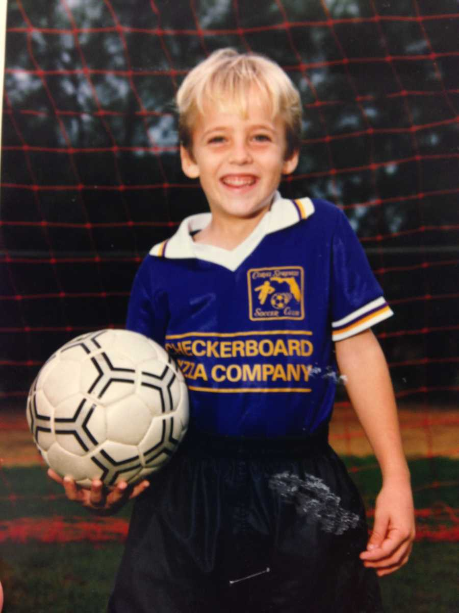 4. Brett played soccer when he was a kid.
