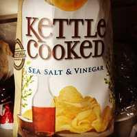 12. Brett's favorite food is salt and vinegar chips.