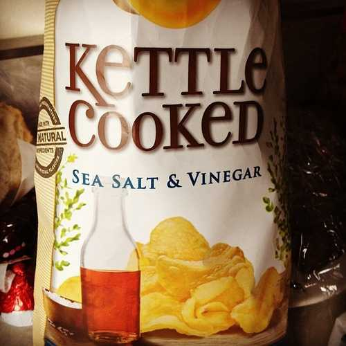 12. Brett's favorite food is salt and vinegar chips.