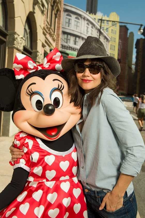 Katie Holmes visited Disney's Hollywood Studios theme park at Walt Disney World Resort in Lake Buena Vista, Fla. on March 16, 2014.