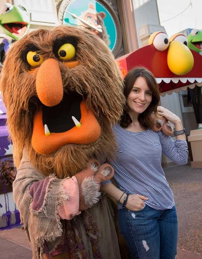Tina Fey visited Disney's Hollywood Studios theme park at Walt Disney World Resort in Lake Buena Vista, Fla. on March 16, 2014.