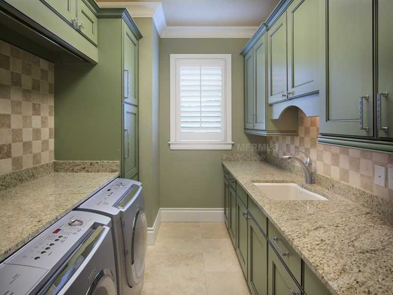 Last but not least, the full service laundry room. If you'd like to learn more about the property visit Realtor.com.