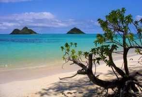 1. Lanikai Beach, Kailua, Hawaii