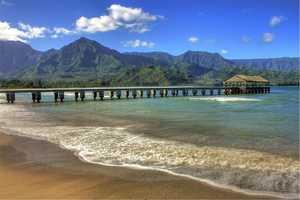 4. Hanalei Beach, Hanalei, Hawaii