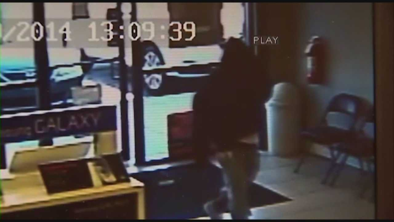 An armed man walked into a Boost Mobile store on the 900 block of Lee Road and demanded cash Wednesday afternoon.