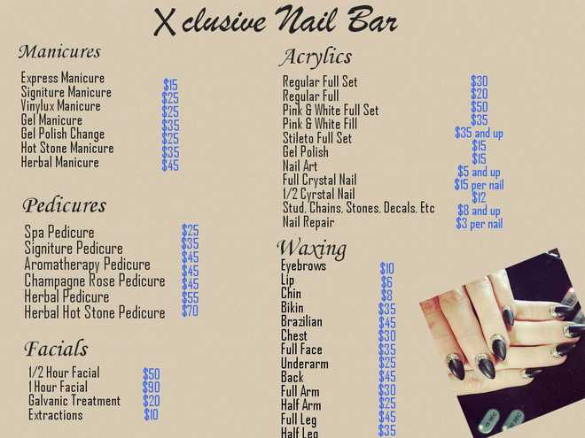 Find out what makes Xclusive Nail Bar so exclusive