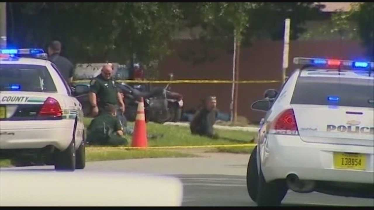 While jury selection began Monday in the murder trial of a Warlocks Motorcycle Club member, deputies said another Warlocks member was shot.