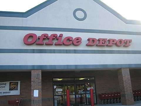 5. Office Depot (253) -- 38,000 employees