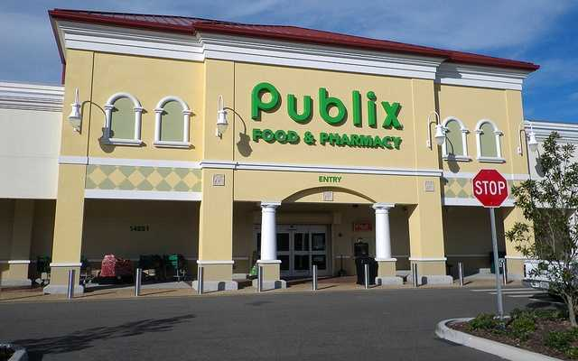 2. Publix Super Markets (108) -- 158,000 employees