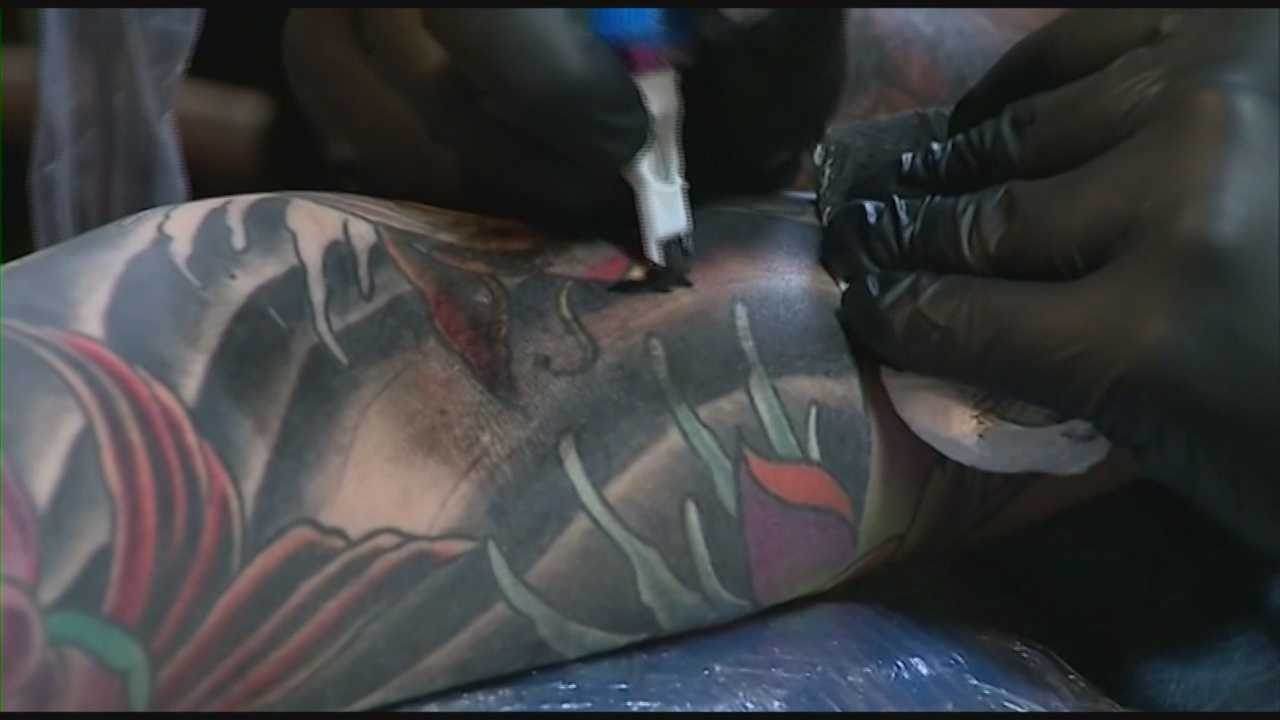 "The Orange County Health Department is warning people to stay away from unlicensed tattoo artists and ""tattoo parties."""