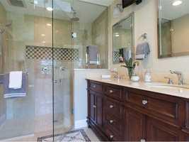 And a spa-like master bathroom.