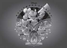 Disney's Hollywood Studios will celebrate its 25th anniversary on May 1 and to go along with the celebration, several new merchandise items will mark the occasion.