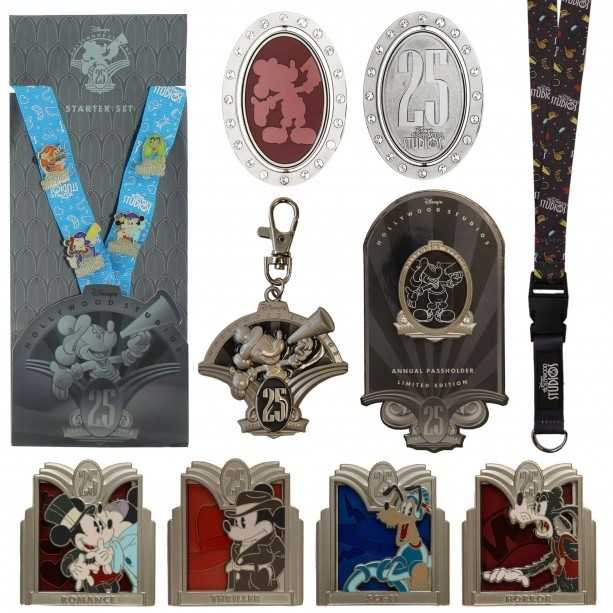 New pin collections, including a jumbo-sized pin, will be offered. An annual passholder exclusive pin will also be available.