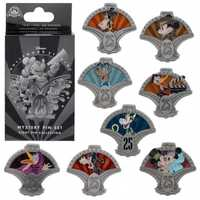 Guests who like a little mystery can pick up the mystery pin set that contains a host of characters in several different costumes.